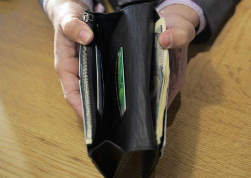 長財布カード収納