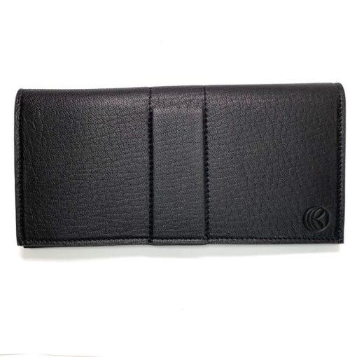 鹿皮のレザレクションの長財布