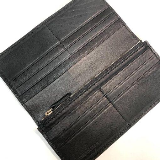 鹿皮のレザレクションの長財布-内側2
