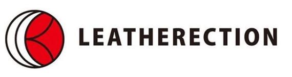 鹿革ブランド「LEATHERECTION(レザレクション)」のロゴ)」