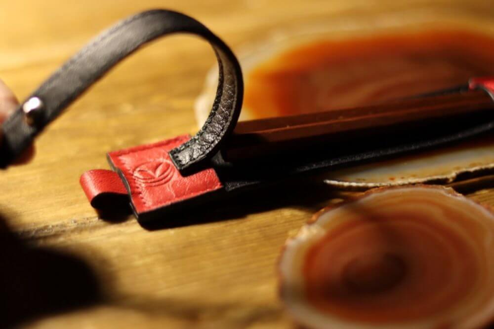 お箸ケース-紅黒1