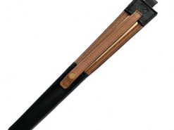 レザレクションの鹿革箸ケース-黒ブラウン