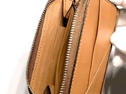 ミニウォレット/ミニ財布/ブラウンの側面
