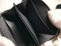 ミニウォレット/ミニ財布/ブラックの中