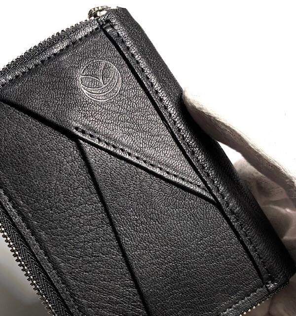 ミニウォレット/ミニ財布/ブラック