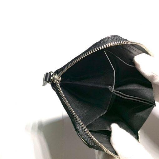 ミニウォレット/ミニ財布/ブラックの側面
