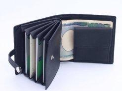 レザレクション鹿革二つ折り財布内側